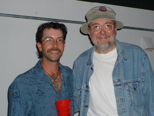 Brandon and Bun E Carlos